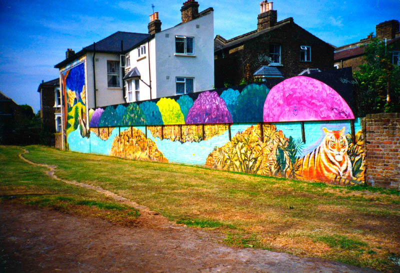 William Blake's vision a child in 18th century transforms East Dulwich/Peckham Rye now a landmark.