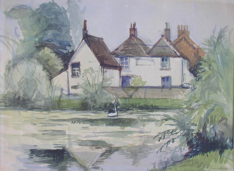 Epsom Surrey also my first art college 1953 at aged 13